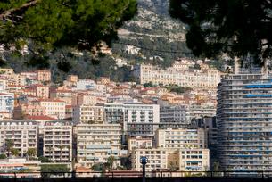 モナコのマンション街の写真素材 [FYI01708972]