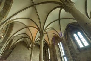 モンサンミッシェル修道院迎賓の間の写真素材 [FYI01709061]