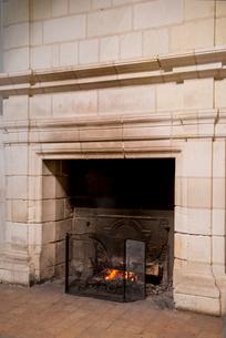 シャンボール城の暖炉の写真素材 [FYI01709088]