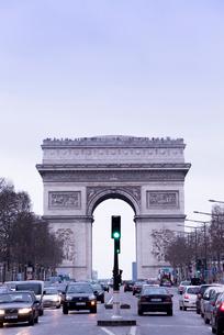 凱旋門の写真素材 [FYI01709162]