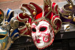 カーニバルの仮面の写真素材 [FYI01709294]