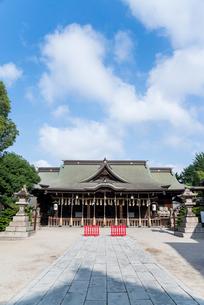 小倉城内の八坂神社の写真素材 [FYI01709636]