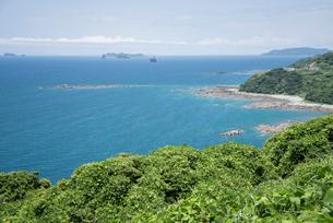 遠くに池島・松島を見る風景の写真素材 [FYI01709714]