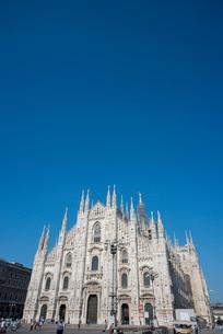 ミラノのドゥオーモの写真素材 [FYI01709827]