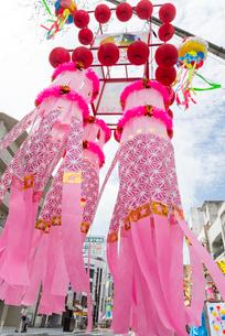 安城七夕祭りの写真素材 [FYI01709896]