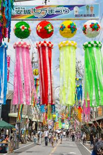 安城七夕祭りの写真素材 [FYI01709933]