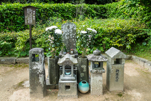高杉晋作の萩の墓の写真素材 [FYI01709967]