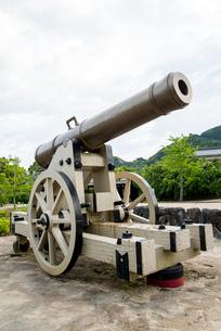 郡司鋳造所跡にある大砲の写真素材 [FYI01709982]
