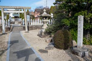 桶狭間の戦いで今川義元の重要拠点になっていた鳴海城阯の写真素材 [FYI01709998]
