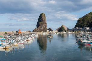 寝屋漁港の写真素材 [FYI01710006]