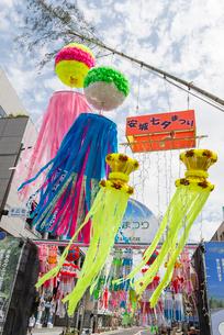 安城七夕祭りの写真素材 [FYI01710013]