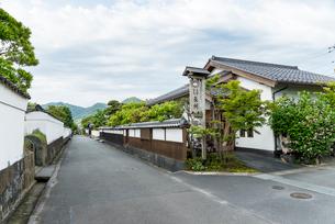 萩城下町風景の写真素材 [FYI01710029]