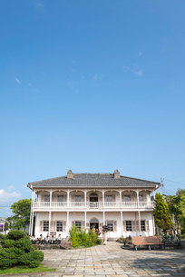 グラバー園の旧三菱第2ドックハウスの写真素材 [FYI01710126]