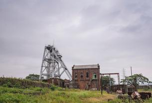 三池炭鉱万田坑の写真素材 [FYI01710150]