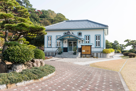海辺の文学記念館の写真素材 [FYI01710218]