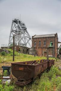 三池炭鉱万田坑の写真素材 [FYI01710270]