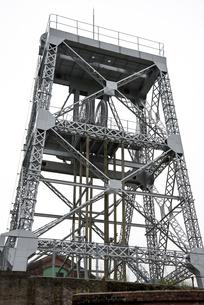 三池炭鉱万田坑第二竪坑櫓の写真素材 [FYI01710298]