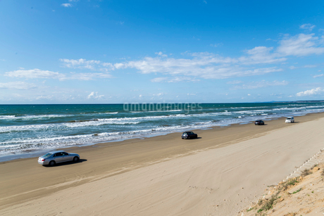 千里浜なぎさドライブウェイの写真素材 [FYI01710342]