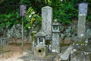 久坂玄瑞の墓の写真素材 [FYI01710368]
