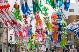 安城七夕祭りの写真素材 [FYI01710391]