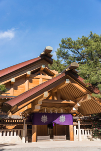 熱田神宮神楽殿の写真素材 [FYI01710396]