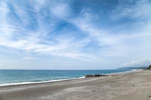 熊野灘に面した七里御浜の写真素材 [FYI01710502]
