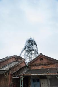 三池炭鉱万田坑の写真素材 [FYI01710535]