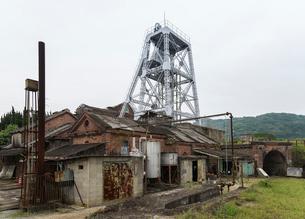 三池炭鉱万田坑の写真素材 [FYI01710556]