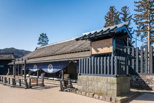 箱根関所の大番所風景の写真素材 [FYI01710656]