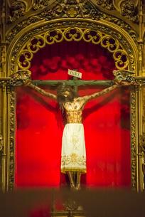 ブルゴス大聖堂内礼拝堂のキリストの写真素材 [FYI01710660]