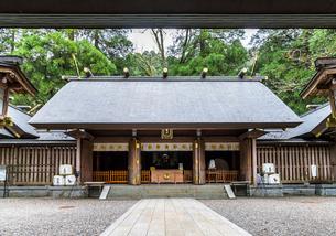 天岩戸神社西本宮拝殿の写真素材 [FYI01710774]