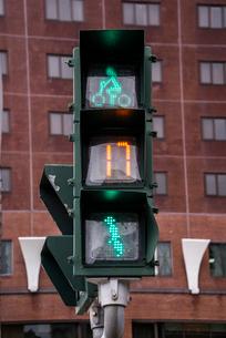 台湾の歩行者用信号機の写真素材 [FYI01710803]