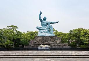 平和公園の平和祈念像の写真素材 [FYI01710826]
