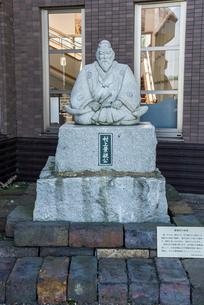 村上水軍頭領元吉の弟村上景親像の写真素材 [FYI01710907]