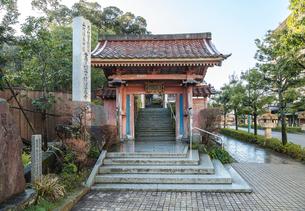 山代温泉の薬王院温泉寺の写真素材 [FYI01711014]