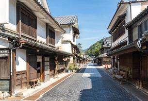 風情ある竹原の町並みの写真素材 [FYI01711117]