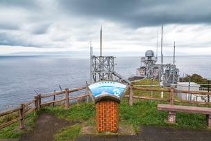 龍飛崎より津軽海峡越しに北海道を望むの写真素材 [FYI01711251]