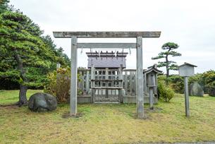 高山稲荷神社の神明宮の写真素材 [FYI01711286]