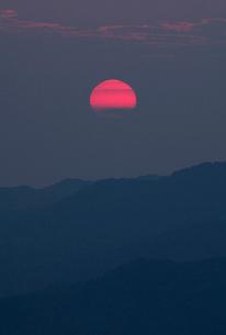 夕日の写真素材 [FYI01711397]