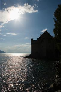 スイス シオン城の写真素材 [FYI01711412]