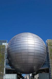 名古屋市科学館のプラネタリウムの写真素材 [FYI01711590]