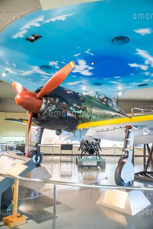 戦時中に活躍した零式戦闘機の写真素材 [FYI01711655]