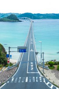 角島大橋の写真素材 [FYI01711783]