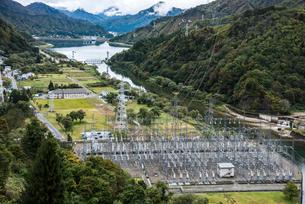 田子倉発電所風景の写真素材 [FYI01711882]