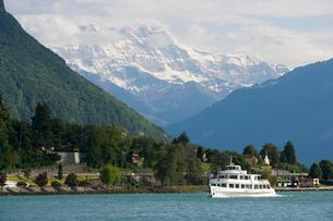 スイス シオン城近辺 レマン湖畔の写真素材 [FYI01712111]