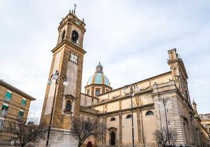 カルタジローネ大聖堂 サン ジュリアーノ大聖堂の写真素材 [FYI01712206]