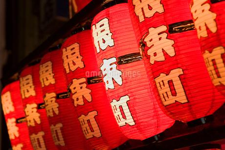 粉河祭り だんじりの提灯の写真素材 [FYI01712303]