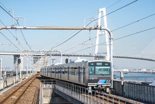 あおなみ線車輛風景の写真素材 [FYI01712311]