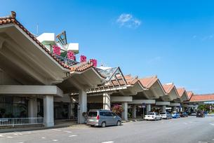 宮古空港ターミナルエントランス風景の写真素材 [FYI01712377]