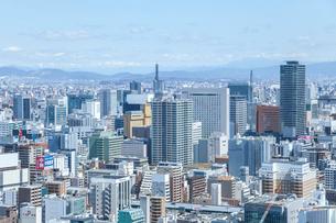 名古屋市街地を見下ろすの写真素材 [FYI01712409]